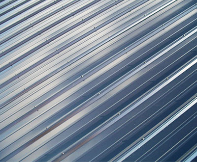 Vertical Roofing Panels