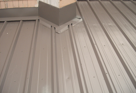 Vertical roofing panels for Vertical metal siding